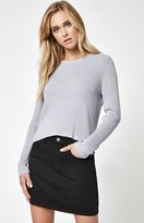 La Hearts Easy Ribbed Pullover Sweater