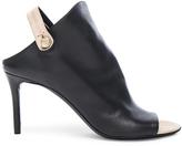 Balenciaga Leather Slingback Mules