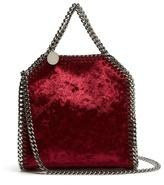 Stella McCartney Tiny Falabella velvet cross-body bag