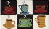 """Nourison Coffee 20"""" x 33"""" Kitchen Rug"""