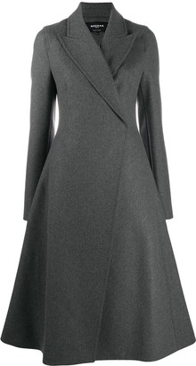 Rochas Flared Midi Coat
