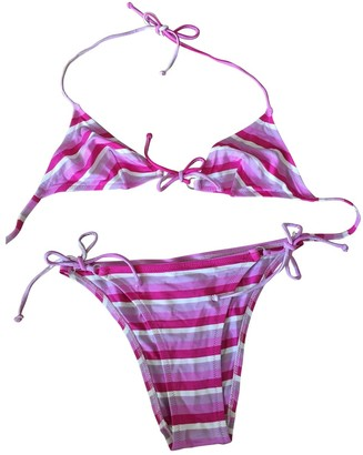 Laura Urbinati Pink Lycra Swimwear for Women
