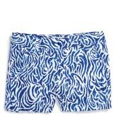Vineyard Vines Toddler Girl's Zebra Print Cotton Shorts