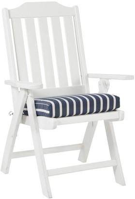 L.L. Bean Casco Bay Cushion for All-Weather Armless/Folding Chair, Stripe