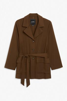Monki Belted blazer