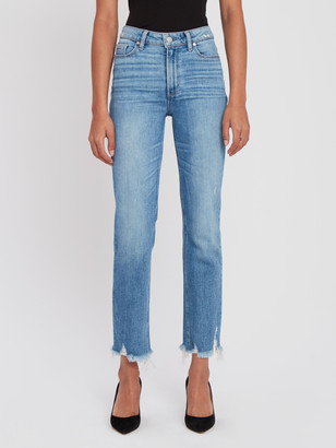 Paige Cindy High Rise Straight Leg Jeans