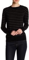 Equipment Wool Blend Striped Sweater