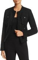 MICHAEL Michael Kors Metallic Tweed Jacket