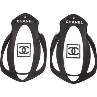 Chanel Black Leather Swimming