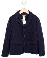 Bonpoint Boys' Wool Notch-Lapel Coat w/ Tags