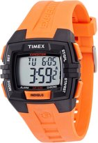 Timex Men's Expedition T49902 Orange Resin Quartz Watch with Dial