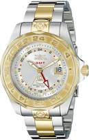 Invicta Men's Pro Diver GMT Two Tone 18k Gold Plated