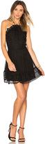 Karina Grimaldi Benjamin Lace Mini Dress in Black. - size XS (also in )