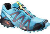 Salomon SpeedCross 3 Trail Running Shoe - Women's Azurin Blue/Fog Blue/Radiant