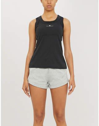 adidas by Stella McCartney Athletics organic cotton-jersey shorts