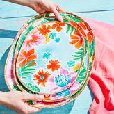 Sur La Table Tropical Melamine Platters, Set of 3