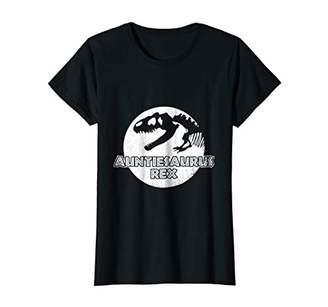Womens Funny Aunt Tee Shirt Aunts & Auntie T-Shirt Gifts For Women