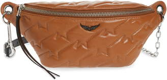 Zadig & Voltaire Edie Quilted Leather Belt Bag