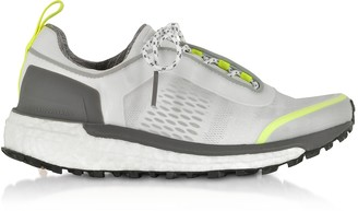 Adidas Stella Mccartney White Solar Yellow Supernova Trail Sneakers