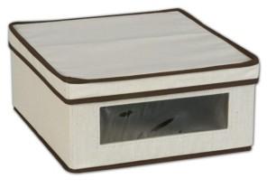 Household Essentials Small Canvas Storage Box