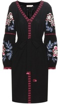 Tory Burch Therese embroidered cotton dress