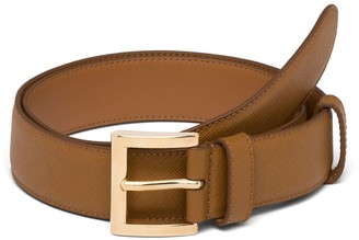Prada classic slim belt