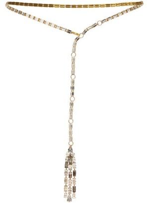 Julie De Libran - Crystal Embellished Belt - Womens - Crystal
