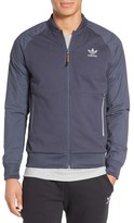 adidas Men's 'Sport Luxe' Mix Knit Track Jacket