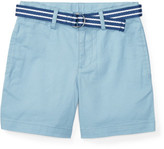Polo Ralph Lauren Belted Stretch Cotton Short (2-4 Years)