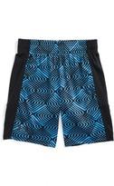 Under Armour Toddler Boy's Midtown Grid Stunt Heatgear Shorts