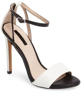 Topshop Women's Raphael New Genuine Calf Hair Sandal