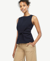 Ann Taylor Tie Front Shell