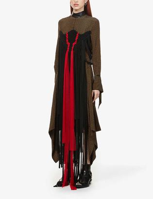 Recharge X7 By Yasmin Sewell Petar Petrov recharged by ZOLI silk-blend midi dress