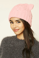 Forever 21 FOREVER 21+ Cable-Knit Ear Beanie