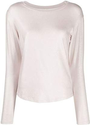 Majestic Filatures long-sleeve fitted top