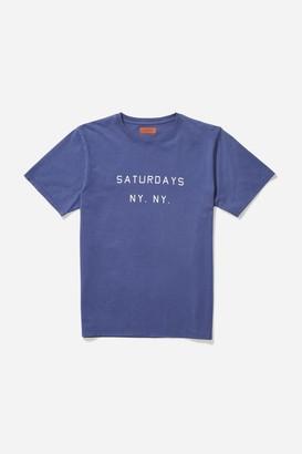 Saturdays NYC Saturdays NY Printed S/S Tee