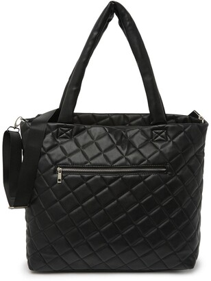 Madden-Girl Pu Quilted Tote