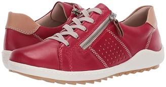 Rieker R1417-33 (Rosso/Bisquit) Women's Shoes