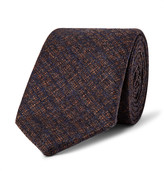 Richard James - 7cm Checked Wool And Cashmere-blend Tie