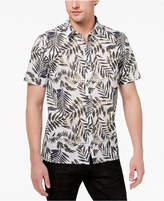 American Rag Men's Safari Leaf Print Shirt, Created for Macy's