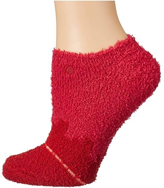 Stance Women/'s Digi Cozy No Show Socks in Fuschia
