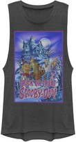 Scooby-Doo Licensed Character Juniors' Mystery Gang Trick Or Treat Poster Muscle Tank