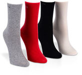 Calvin Klein Boxed Four-Pair Holiday Crew Socks