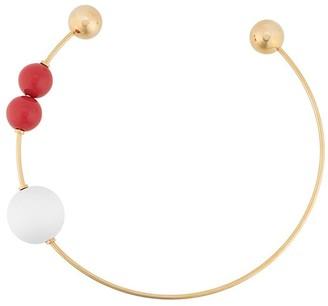 Marni Oversize Bead Bangle Necklace