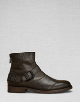 Belstaff Trialmaster Short Boot Black