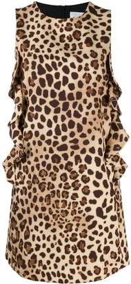 Blumarine Be Leopard Print Mini Dress