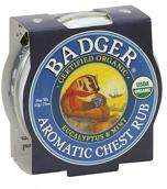 Badger Aromatic Chest Rub 21g