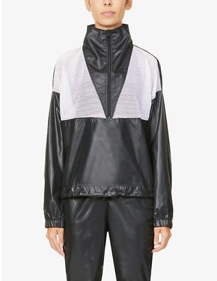 Koral Nova Vento high-neck shell jacket