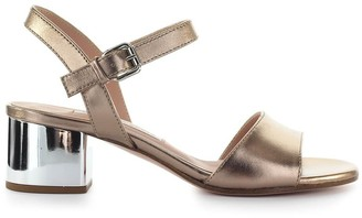 Roberto Festa Divina Copper Mid-heeled Sandal