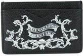 Alexander McQueen skull insignia cardholder